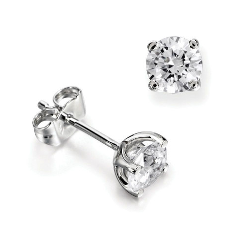 Popular Classic Lab Grown Diamond Stud Earrings