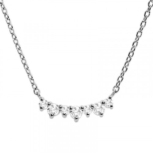 0.15Ct Diamond Necklace Pendant for Women