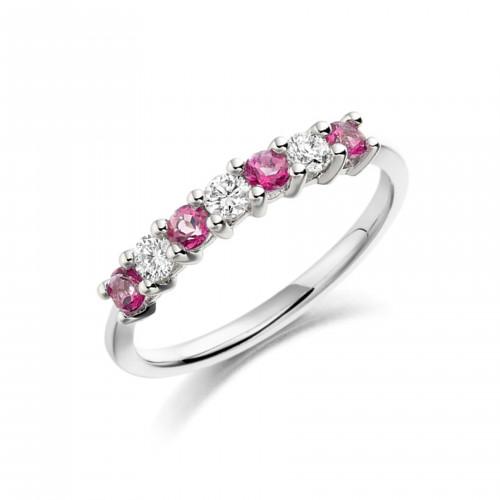 Black Diamond Ring Platinum UK Brilliant Cut Diamond 4 Prongs