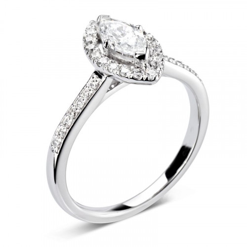 Marquise Engagement Ring Uk Diamond Halo Engagement Ring