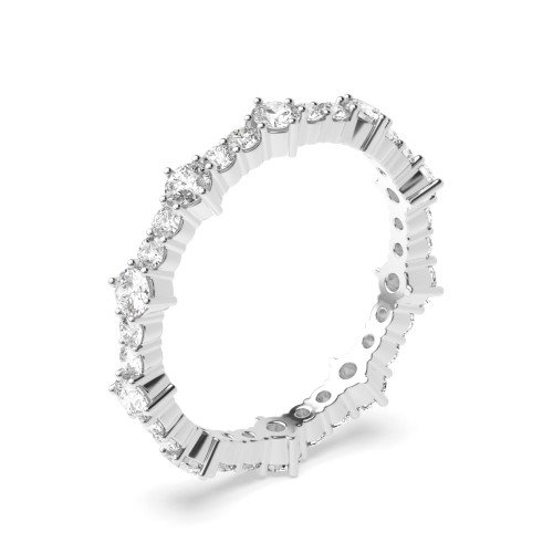 4 Prong Setting Glamorous Exclusive Diamond Full Eternity Ring (3.40mm)