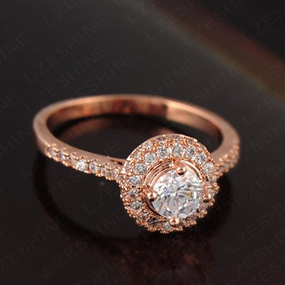 Bespoke Halo Engagement Ring