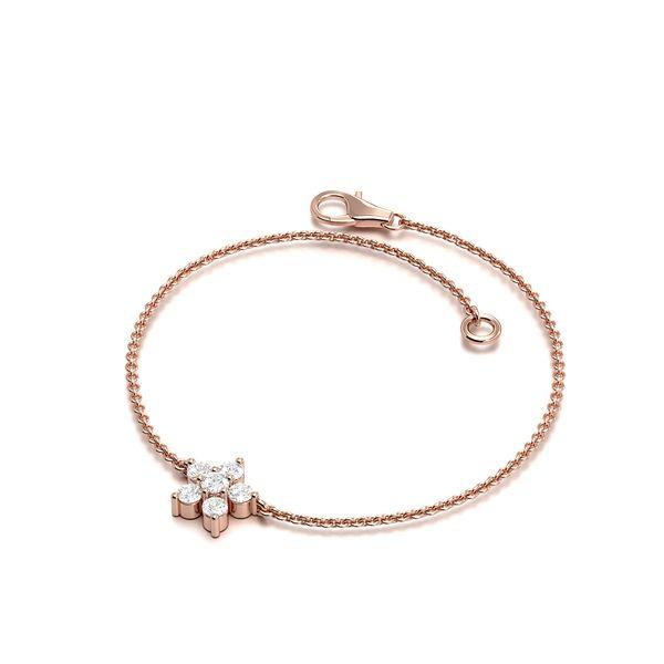 Flower Diamond Bracelets
