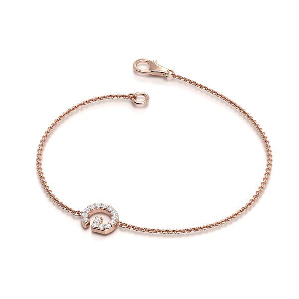Initial Diamond Bracelets