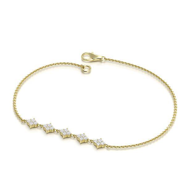 Cluster Diamond Bracelets