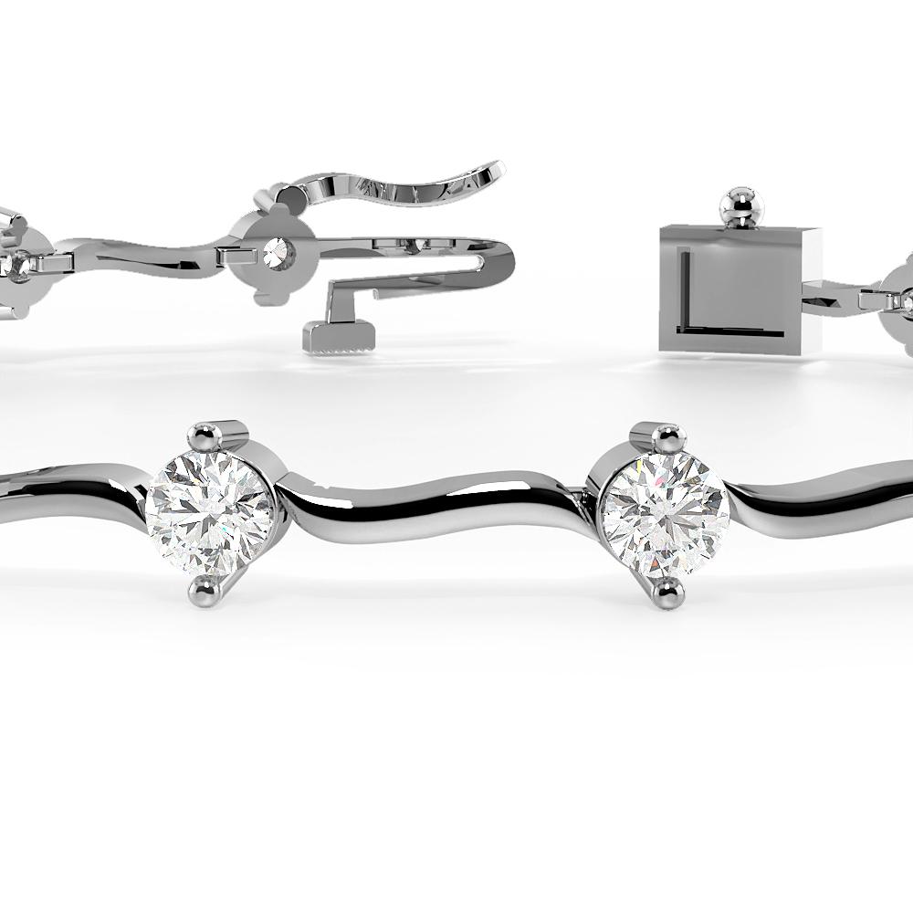 S Link Delicate Diamond Bracelets