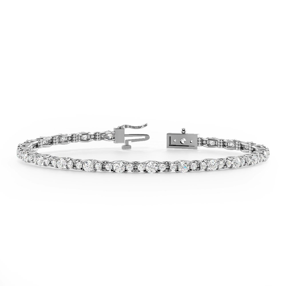 Firing Diamond Tennis Bracelets