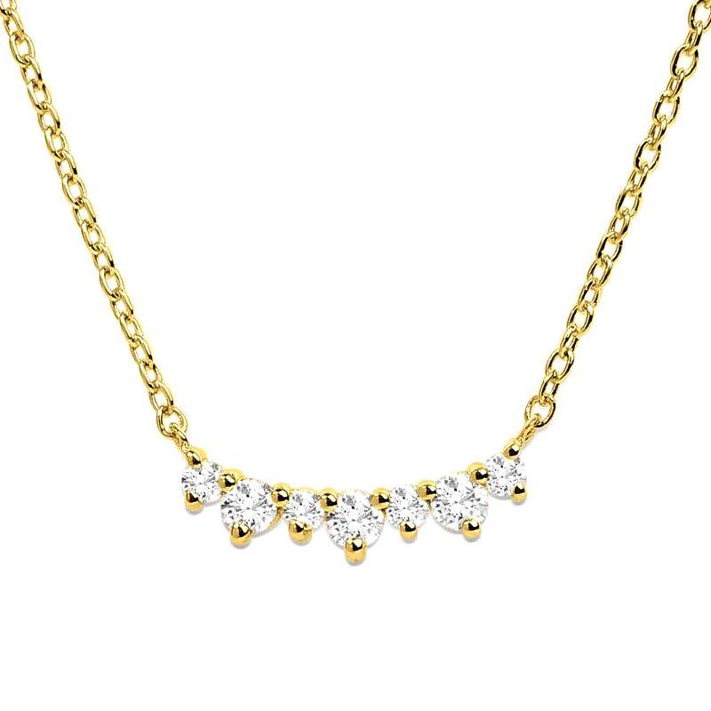 0.15Ct Diamond Necklace Pendant for Women