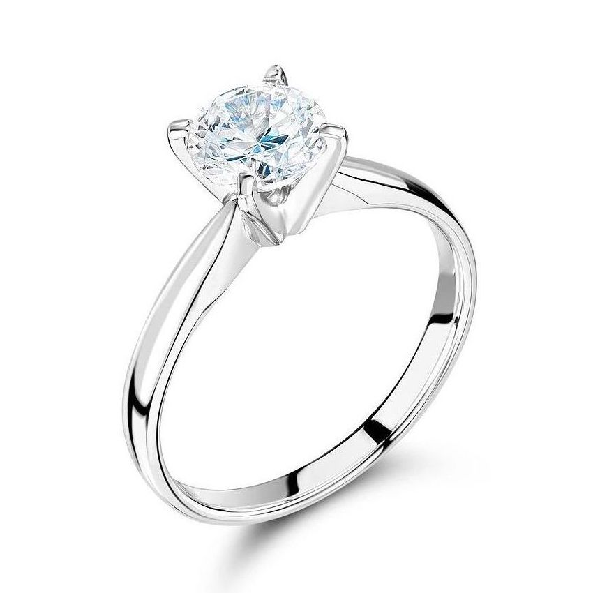 Solitaire Lab Grown Diamond Engagement Ring