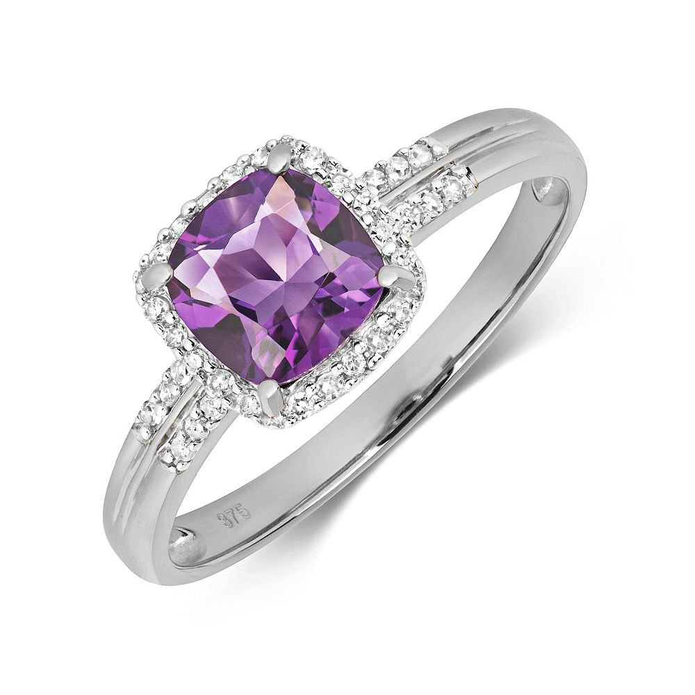 Twist Claw Setting Solitaire Moissanite Engagement Ring UK
