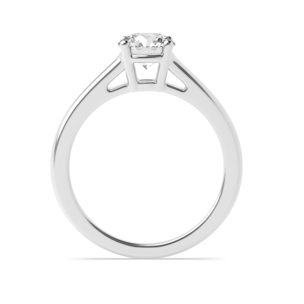 4 Prongs Lab Grown Diamond Solitaire Engagement Rings