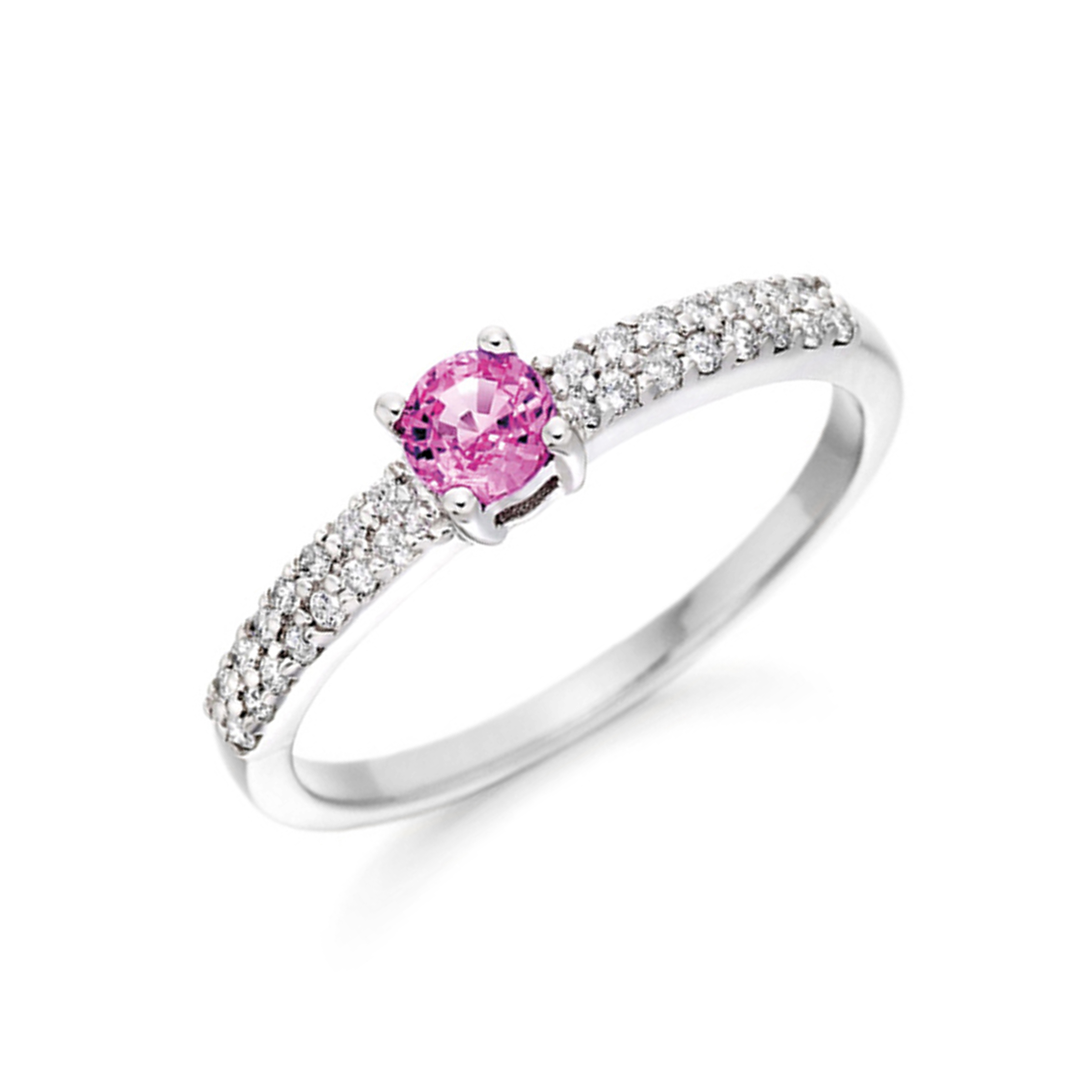 Marquise Diamond Ring With Side Stones On Shoulder Set Accented Diamond Engagement Ring