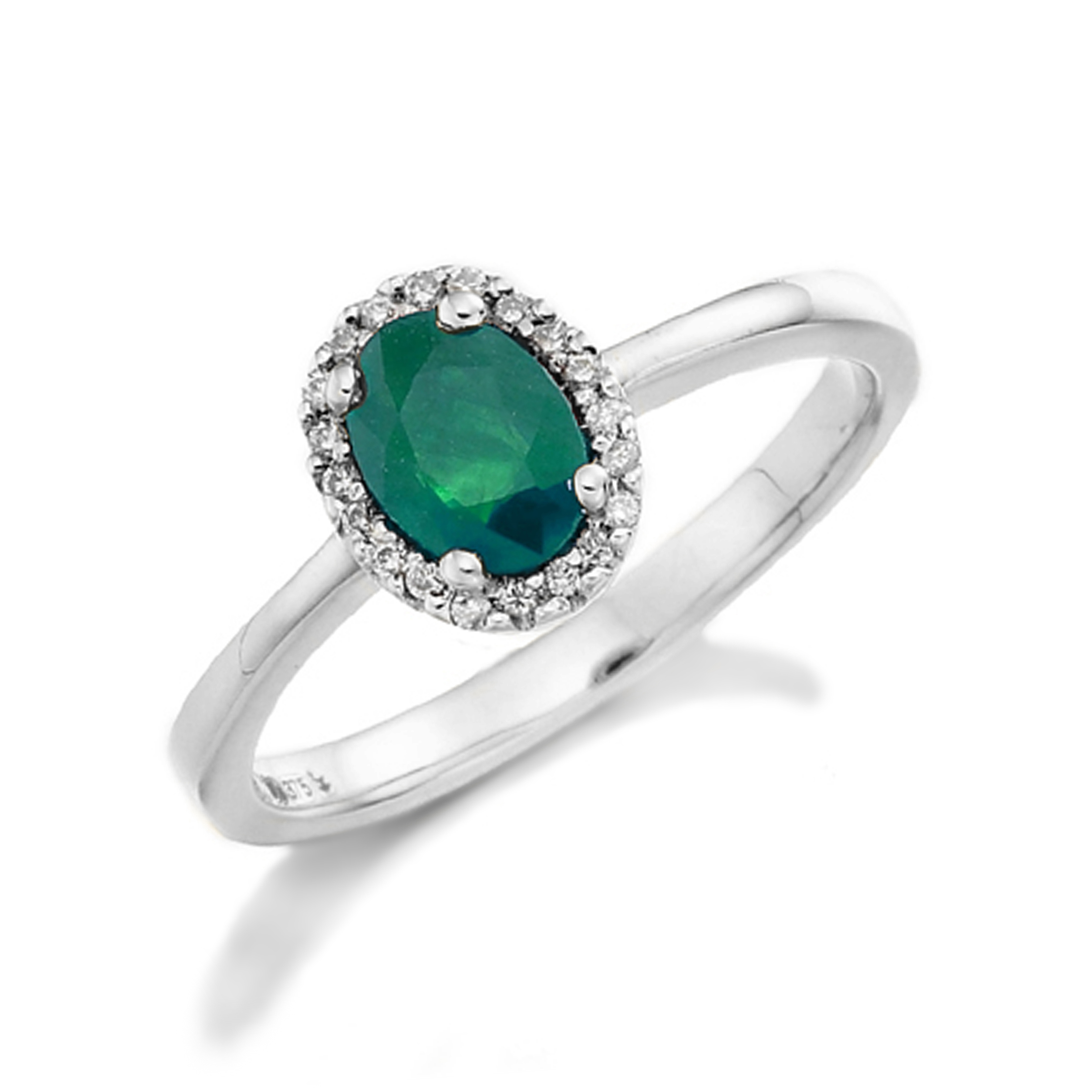 Radiant Cut Milligrain Edge Shoulder Set Diamond Engagement Ring