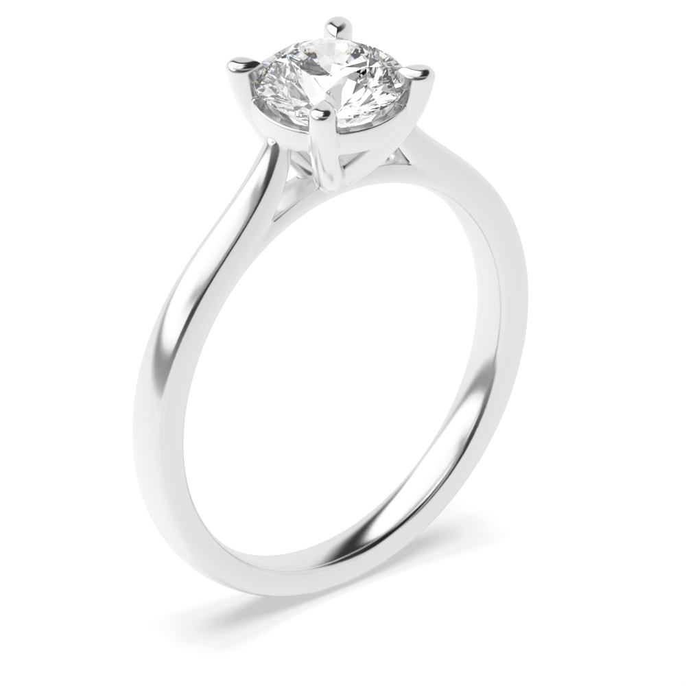 Delicate and Classic Popular Solitaire Diamond Engagement Rings
