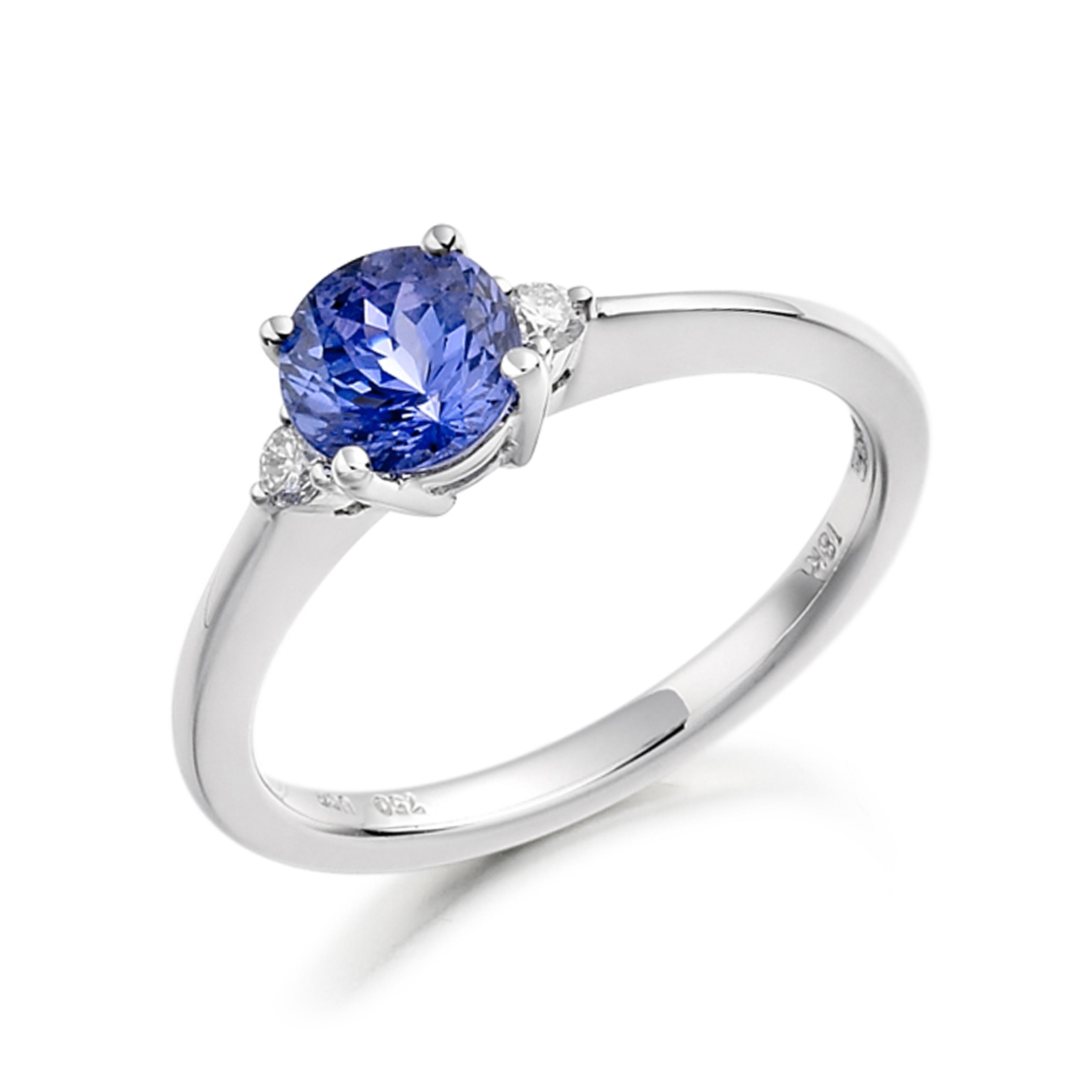 Milligrain Halo Diamond Cluster Diamond Ring (8.0mm)