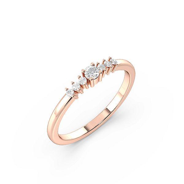 Seven Stone Side Stone Diamond Engagement Rings