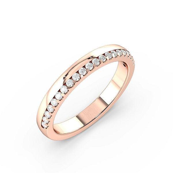 Diamond on Edge Womens Diamond Wedding Rings (1.7mm)