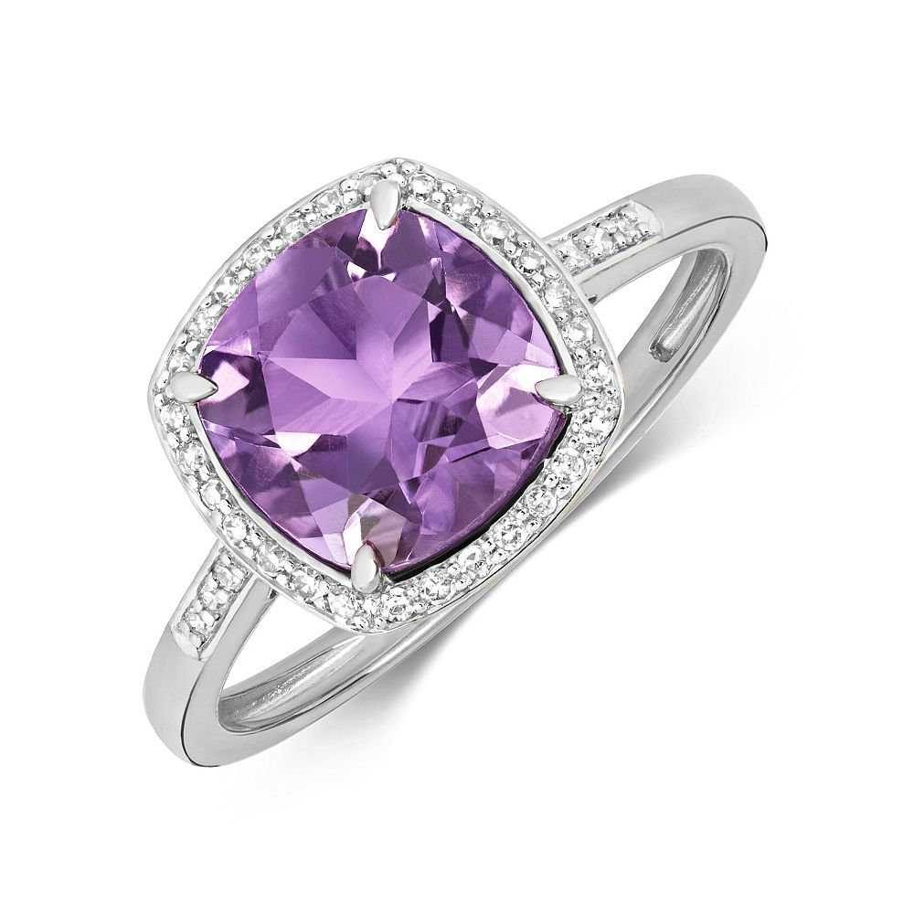 Oval Shape 6 Claws Double Claw Solitaire Diamond Engagement Ring