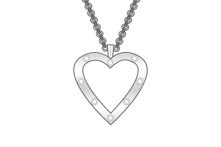 Heart Pendants